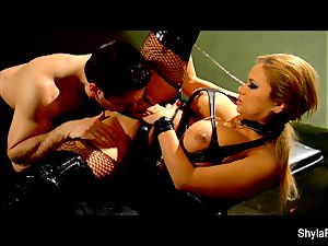 big-chested Shyla Stylez gets a good buttfuck smashing