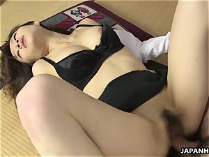 boning her in the missionary posture with style