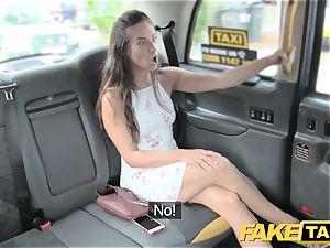 fake cab horny supple american hotty