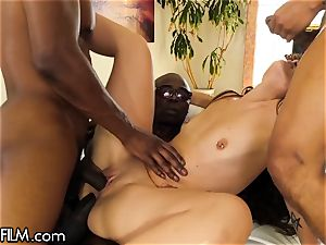DevilsFilm nubile gangbang- big black cock in Every crevice