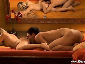 buttfuck lovemaking sensation from platinum-blonde cougar