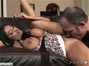 Priya Rai salivates over this rock hard pulsing trunk
