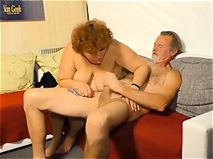 xxx Omas - German granny gets nailed like a superslut