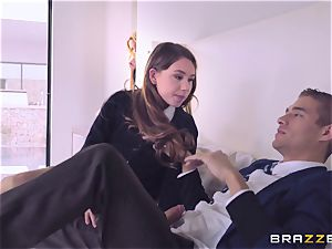 Briana Banks catches Taylor Sands with her beau