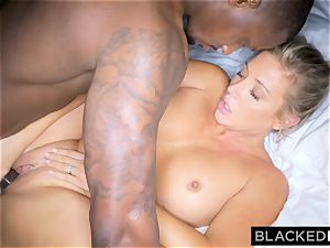 BLACKEDRAW light-haired trophy wife Cucks Her husband With big black cock
