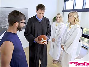 Church honey screws step-brother Behind Dads Back! S1:E4