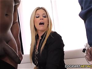 India Summers pounds Davin King's big black cock - hotwife Sessions
