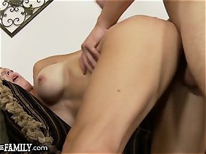 OutOfTheFamily mommy likes Gettin All Over Stepson's man rod