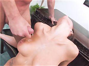 super-steamy super-hot April ONeil always enjoyed to get herself jizzed after a super-hot shag