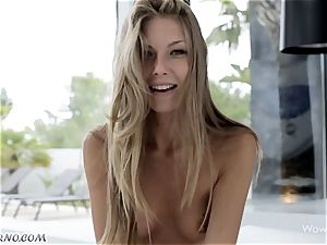 gorgeous lady from Russia chooses fuck-a-thon before learning