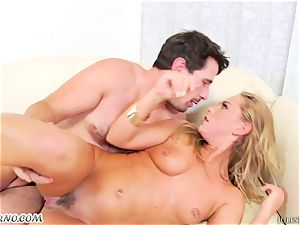 18-year-old girl gets her oily caboose torn up by Manuel Ferrara