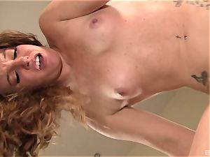 Emily Eve is a devious ginger-haired