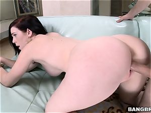 marvelous huge-boobed Mary Jane riding on top