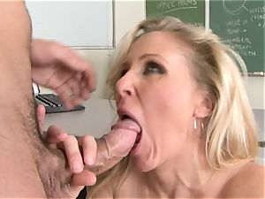 Julia Ann is a gonzo milf who wants to put her labia on a stiff spunk-pump