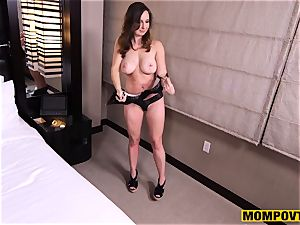adorable large knockers unexperienced wife banged point of view
