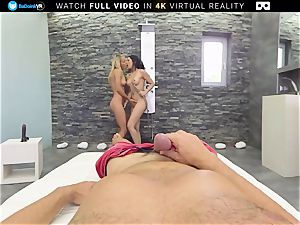 BaDoink VR 7th Heaven With Christen and Julia VR pornography