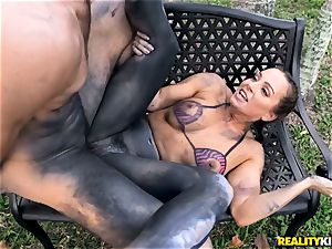 Abigail Mac boinked in her tight cootchie