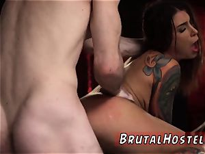 tape ball-gagged fellatio excited youthfull tourists Felicity Feline and Jade Jantzen are