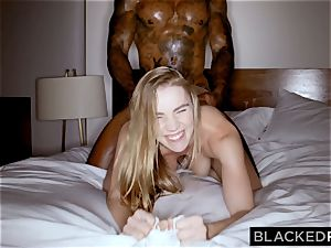 BLACKEDRAW hotwife gf likes her muscled meaty ebony lover