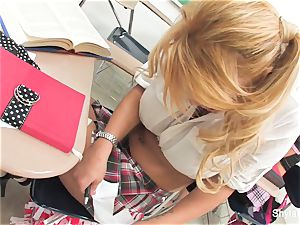 Bad student Shyla gets banged by her tutor