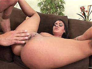 Charley chase bounces her super-steamy fuckbox on this rigid pecker
