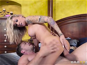 Family day and sloppy fuckfest with my stepmother Synthia Fixx