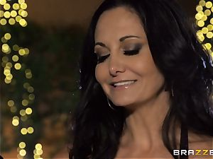 Ava Addams gets a packing from the pool stud