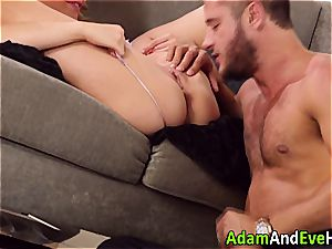 cool duo Mia Malkova and Danny Mountain pulverizing
